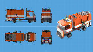 100 Lego Recycling Truck By Purepitch72 On DeviantArt