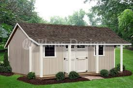 12 x 20 storage shed with porch playhouse plans p81220 free