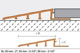 schluter reno r tile edge protection floor transition profiles