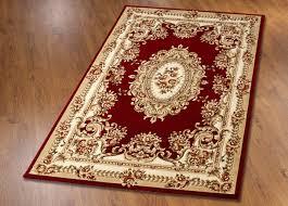 brücken teppiche und galerie mit aubusson dessin größe 298 teppich 280x380 cm rot