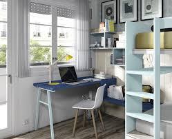 bureau superposé chambre enfant composé d un lit superposé et d un bureau meubles