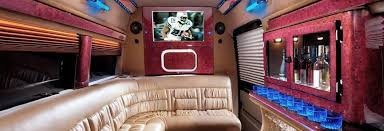 Professional Custom Conversion Van Sales In Glendale California Interior