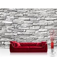vlies fototapete no 132 noble wall grau anreihbar steinwand tapete steinoptik stein wand wall grau
