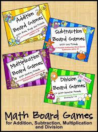 Best 25 Math Board Games Ideas On Pinterest