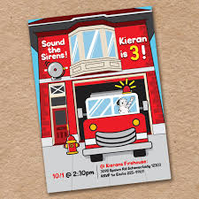 Fire Truck Birthday Party Invitation, Sound The Sirens Fire House ... Fire Truck Firefighter Birthday Party Invitation Amaze Your Guests Gilm Press Firetruck Themed With Free Printables How To Nest Invite Hawaiian Invitations In A Box Buy Captain Jacks Brigade Ideas Bagvania Invitation Card Stock Fireman Printable Leo Loves Nsalvajecom Awesome Motif Card Lovely 24 Best 1st