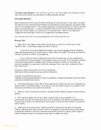 Good Resume Examples For College Students New Elegant Sample Application