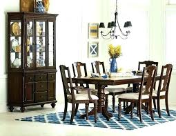 Contemporary China Cabinet Used Dining Room Sets With Hutch Modern White