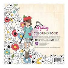 Julie Nutting Watercolor Paper Coloring Book