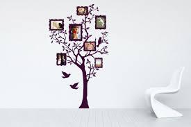 wandtattoos als kreative dekoration im wohnzimmer
