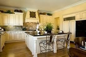 U Shaped Kitchen With Island Floor Plans Window Treatment Ideas Blue Storage Area Rug Granite