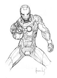 Ironman Coloring Pages TelematikInstitutorg