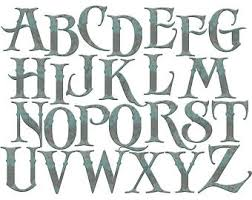 Alphabet Clip Rt Old English Letters And Numbers Clipart Rustic