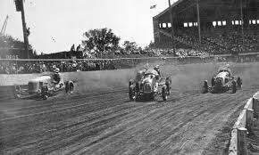 Drivers Compete At The Iowa State Fairgrounds Old Racetrack Photo Courtesy Of Bill Haglund