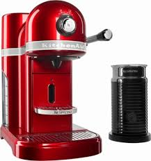 KitchenAid KES0504CA Nespresso Espresso Maker Coffee Milk