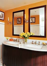 orange bathroom paint 17 best images about orange bathrooms