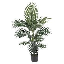 6ft Pre Lit Christmas Tree Sainsburys by 5 U0027 Kentia Palm Silk Tree Walmart Com