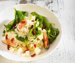 cuisiner figues fraiches recette astuce lignac salade de riz basmati aux baies de goji