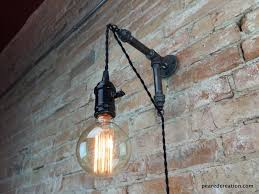 industrial wall sconce pendant edison hanging l edison