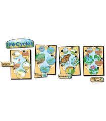 Life Cycles Bulletin Board Set Grade 1 8