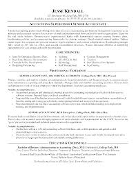 Accounting Manager Resume Insurance