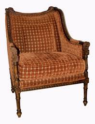 1970s Vintage European Revival Slope Lounge Chair