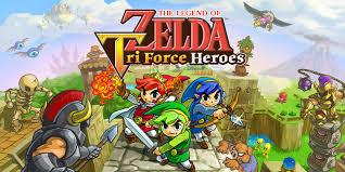the legend of zelda tri force heroes nintendo 3ds games
