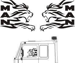 100 Stickers For Trucks Gonia Truck Ltd MAN Truck Shop