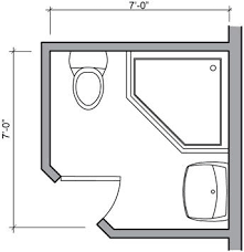 the 25 best small bathroom floor plans ideas on pinterest small