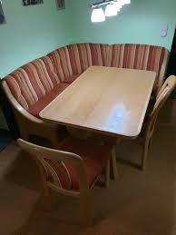 eckbank buche echtholz mit ausziehbarem esstisch xxxlutz stühle
