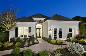 Luxury Single Story Home Exteriors