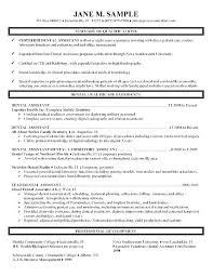 Medical Assistant Example Resume Sample Objectives For Entry Level Finance Objective Statements T Dental
