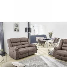 2er sofa cleveland 2 in vintage grau braun