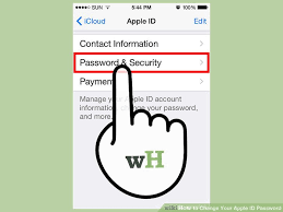 3 Ways to Change Your Apple ID Password wikiHow