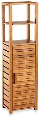 badezimmer eckschrank bambus hoch