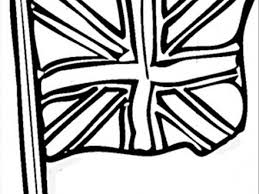 England Flag Coloring Page AZ Pages