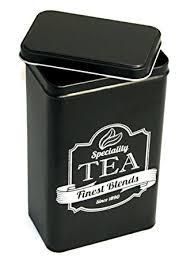 Coffee Powder Tin Storage Case Tea Jar