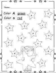 Free Preschool Color Recognition Worksheets Printable Coloring Find