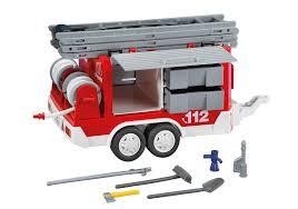100 Playmobil Fire Truck Trailer 7485 PLAYMOBIL USA