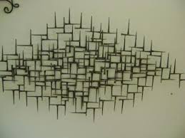 Exclusive Mid Century Modern Metal Wall Art M59 For Your Home Design Style With