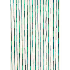 Natural Bamboo Beaded Door Curtain by Curtains Various Colors Afg Distribution