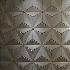 Chinese Factory 3d Wall Panels Cappucino Beige Marble Turkish Ceramic Backed Polished Stone Art Panel Faux