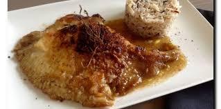 comment cuisiner des ailes de raie aile de raie poêlée au beurre et vinaigre balsamique recette sur