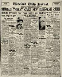 biddeford daily journal newspaper archives oct 22 1936