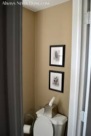 Cedar Safe Bathroom Wall Always Never Done 1