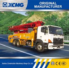 100 Concrete Pump Truck For Sale China XCMG Hb41Hb41A 41m Mounted For
