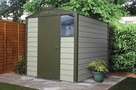Titan Garages And Sheds by Titan 600 Garden Shed Range Metal Sheds From Trimetals