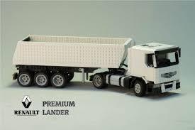 Lego Renault Premium Lander Dump Truck - YouTube