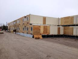 100 Shipping Containers Buildings Old Shipping Containers Find New Life As Buildings CBC News