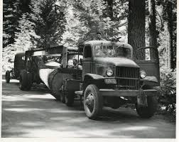 The 1945 International Logging Truck | Sierra Nevada Logging Museum
