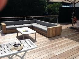 fabriquer un canapé en bois canape jardin bois canape exterieur bois corona salon de jardin 4